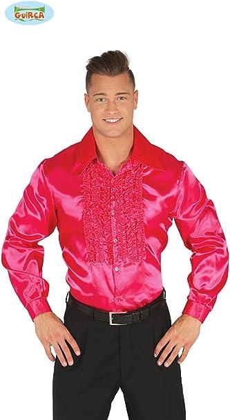Camisa Disco Rosa para hombre: Amazon.es: Juguetes y juegos