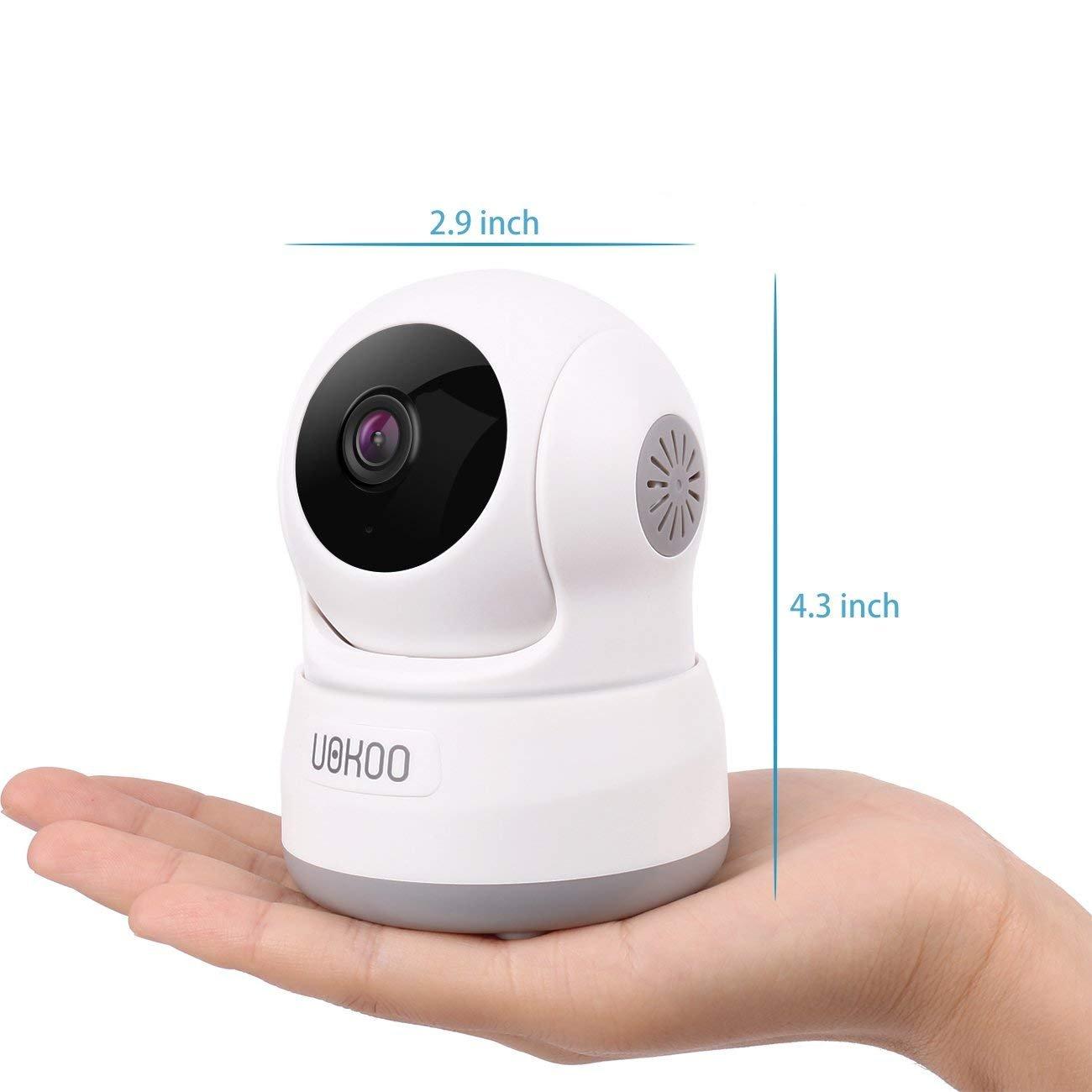 UOKOO Wireless Security Camera, 720P HD Home WiFi Wireless IP ...