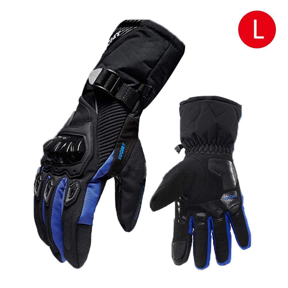 Winter Motorrad Handschuhe Wasserdicht Und Warm Vier Jahreszeiten Reiten Motorradfahrer Anti-Fall-Cross-Country-Handschuhe Oshidede