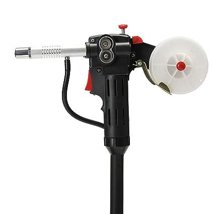 Werse Rodillo Dentado Cuerpo De Nylon Mig Spool Gun Alambre Alimentación Aluminio Antorcha De Soldadura