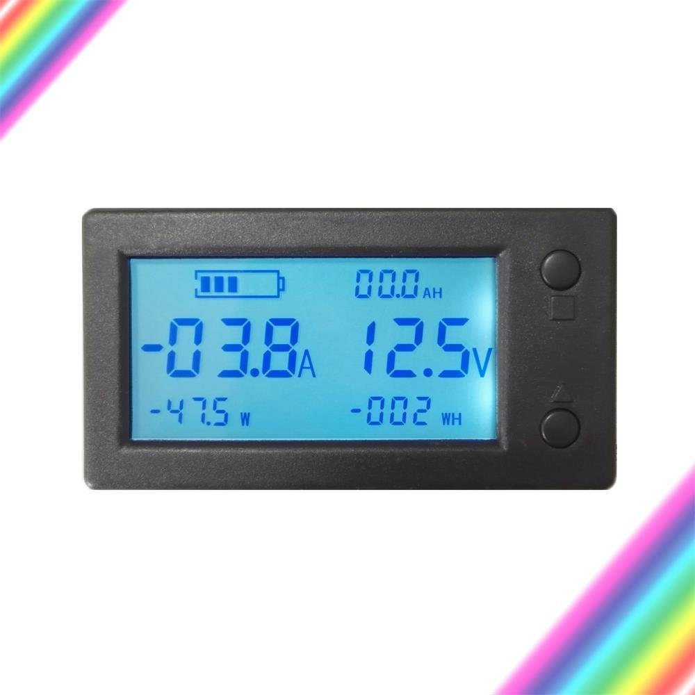 Aili Battery Monitor Dc 300v 100a Voltmeter Ammeter Voltage Amp We Used The Ua Package Hall Effect Sensor For More Information Meter Gauge With Transformer