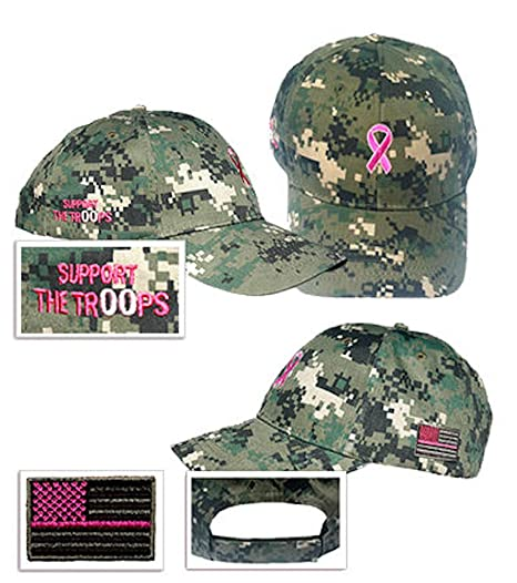 Image Unavailable. Image not available for. Color  Pink Ribbon Ball Cap -  WOODLAND DIGITAL CAMO b4b2accb93d