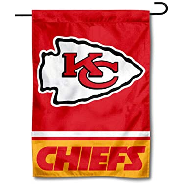 WinCraft Kansas City Chiefs Double Sided Garden Flag