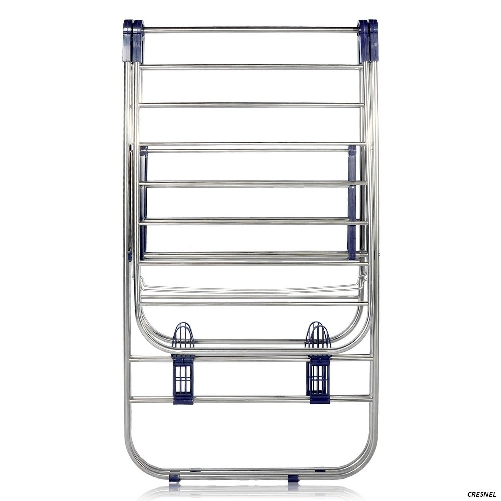 cresnel heavy duty stainless steel clothes drying rack rust proof guarantee ebay. Black Bedroom Furniture Sets. Home Design Ideas
