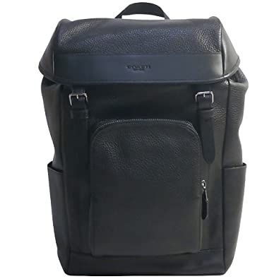 c262eb4bf88b コーチ メンズ レザーバックパック リュック COACH MEN'S HENRY BACKPACK IN PEBBLE LEATHER F72311  BLACK [