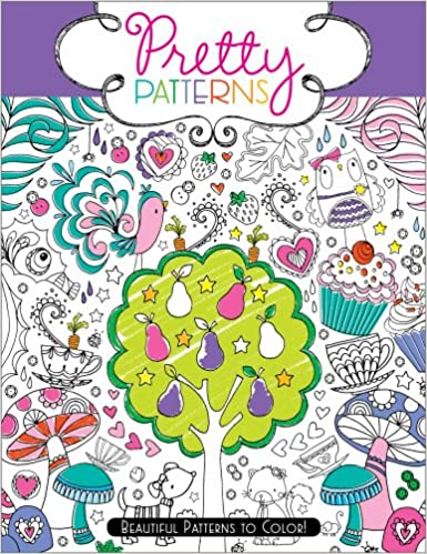 Amazon Pretty Patterns Beautiful To Color 9781442451810 Hannah Davies Beth Gunnell Books