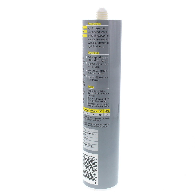 Polyfilla Professional S20 Gap Sealant Avoid Paint Cracking
