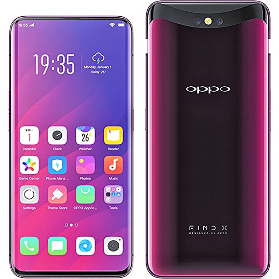 d04b74be18c Amazon.com  OPPO Find X 8GB+128GB 6.42 inches Panoramic Arc Screen ...