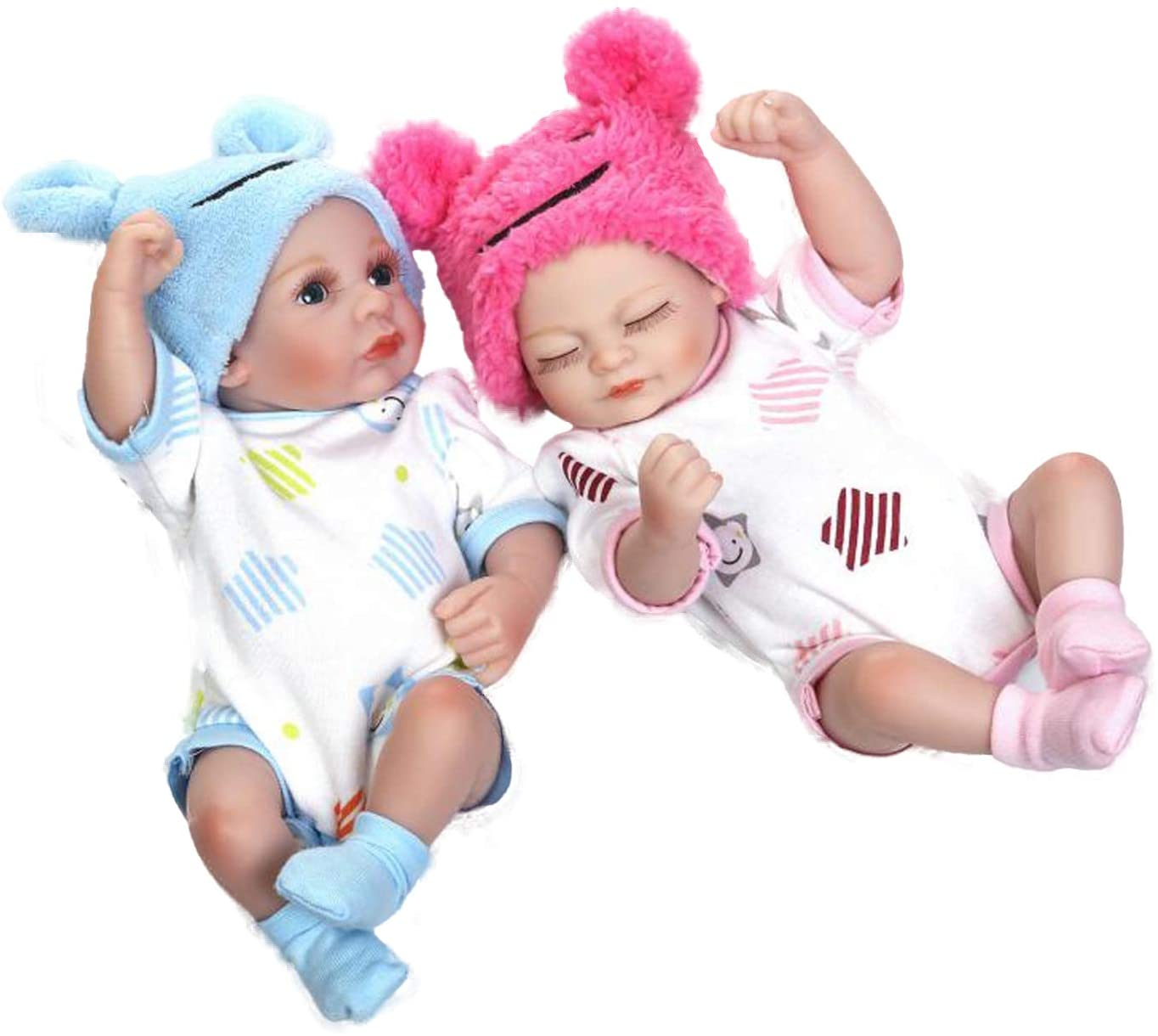 NPK Alive Reborn Baby Girl Dolls Preemie Soft Weighted Body Newborn Baby Dolls