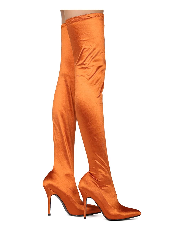 stocking high heels