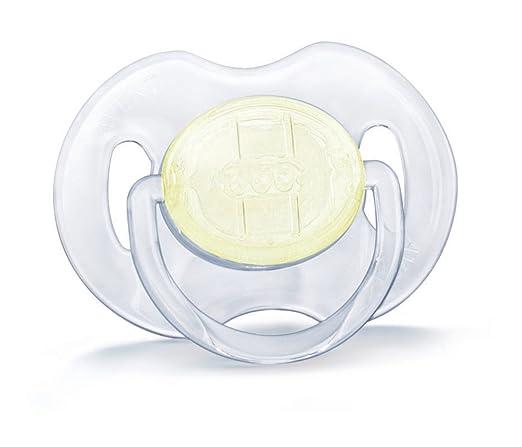Amazon.com: Philips Avent BPA chupete transparente ...