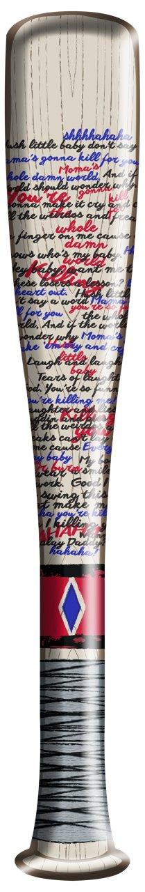 Mazza da baseball gonfiabile bastone di Harley Quinn Suicide Squad Margot  Robbie. ATTENZIONE  SOLO LA MAZZA DA BASEBALL. COSTUME a6cff339f9b9