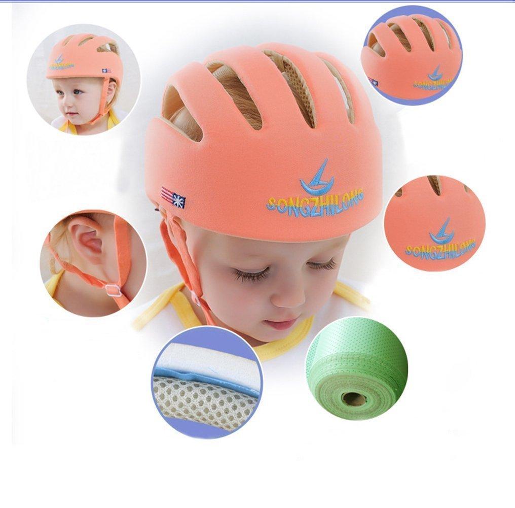 Chichonera ajustable con arn/és color naranja de Hi8 para beb/é para protecci/ón cuando comienza a caminar