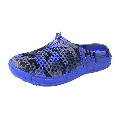 Zuecos Sanitarios Verano Unisex Playa Sandalias Ligeros Respirable Zapatillas Zapatos Mujer Hombre Chanclas Chancletas Playa YiYLunneo: Amazon.es: Ropa y ...