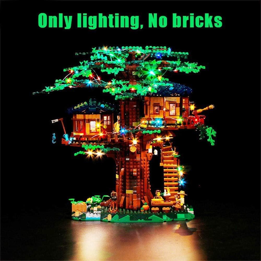 LED Light Lighting Kit ONLY For Lego 21318 Ideas Treehouse Bricks Toys W//Remote