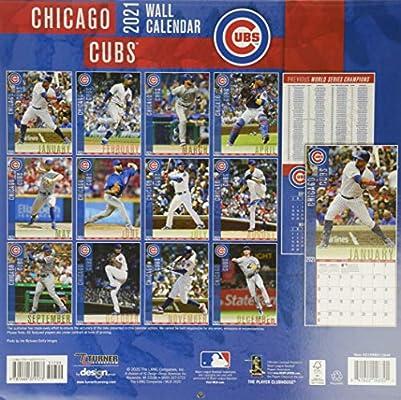 2021 Chicago Cubs Calendar Background