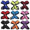"Choke FREE More Comfort Dog X Harness Criss Cross Soft Mesh Pyppy Cat Small Medium Large XXS, XS, S, M, L , XL (XS: Chest 12"" - 14"", PURPLE)"