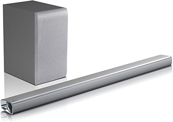 LG SJ5 - Barra de sonido 2.1 320W 4K HI-Res, Bluetooth, HDMI ...