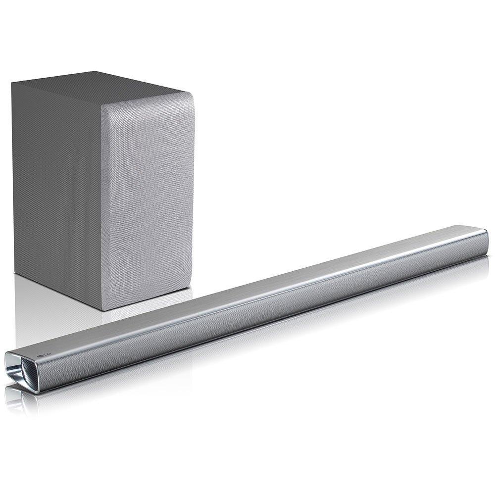LG SJ5 - Barra de sonido 2.1 320W 4K HI-Res, Bluetooth,  HDMI