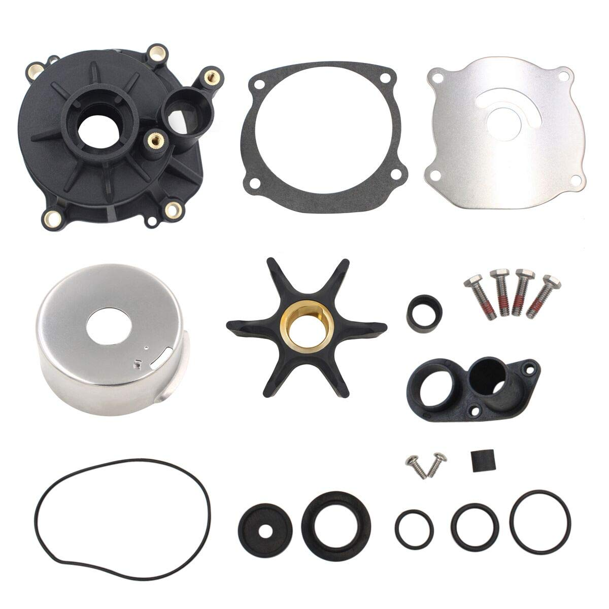 UANOFCN 5001594 Water Pump Kit for Johnson Evinrude OMC Outboard 85-300 Horsepower Boat Motors by UANOFCN