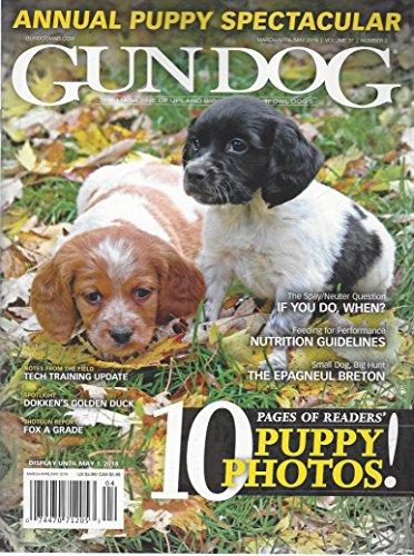 Gun Dog Magazine March April 2018