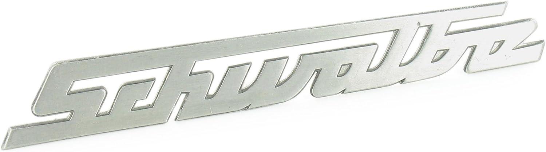 Schriftzug Schwalbe Aluminium Silber Gerade Nicht Gebogen Für Knieschutzblech Beinblech Kr51 Auto