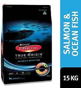 Supercoat True Origin Adult Dog Food, Salmon & Ocean Fish 15kg