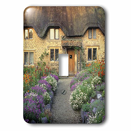 3dRose lsp_82787_1 England, Chippenham, Cotswold Stones Of Home Eu33 Rer0123 Ric Ergenbright Single Toggle ()