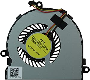 Power4Laptops Replacement Laptop Fan for HP Home 15-bs099nia, HP Home 15-BS099TU, HP Home 15-BS099TX, HP Home 15-bs099ur, HP Home 15-BS0xx