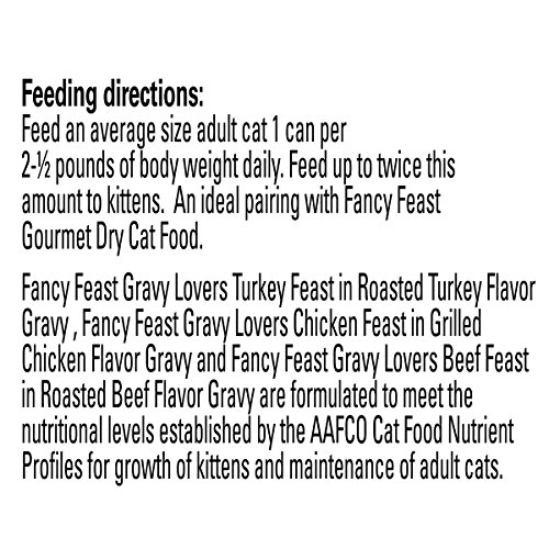 Large Product Image of Purina Fancy Feast Poultry & Beef Feast Collection Cat Food - (24) 3 oz. Cans