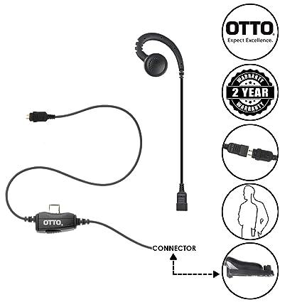 Amazon Com Otto Loc 1 Wire Surveillance Swivel Earpiece For