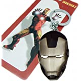 Marvel DC Comics Avengers IRON MAN Metal Key Ring Chain