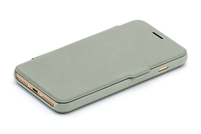 Bellroy Leather iPhone 8 Plus / 7 Plus Phone Wallet Eucalyptus