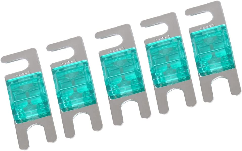 100A KESOTO Mini-ANL-Sicherung 5er Set Sicherungshalter Ersatzteile