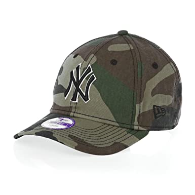 New Era New York Yankees 9forty Jr Team Camo Block New Era Cap - Camo  99f4b16d1e36