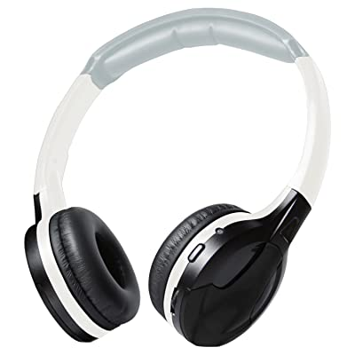 XO Vision Universal IR in Car Entertainment Wireless Foldable Headphones, Black: Home Audio & Theater