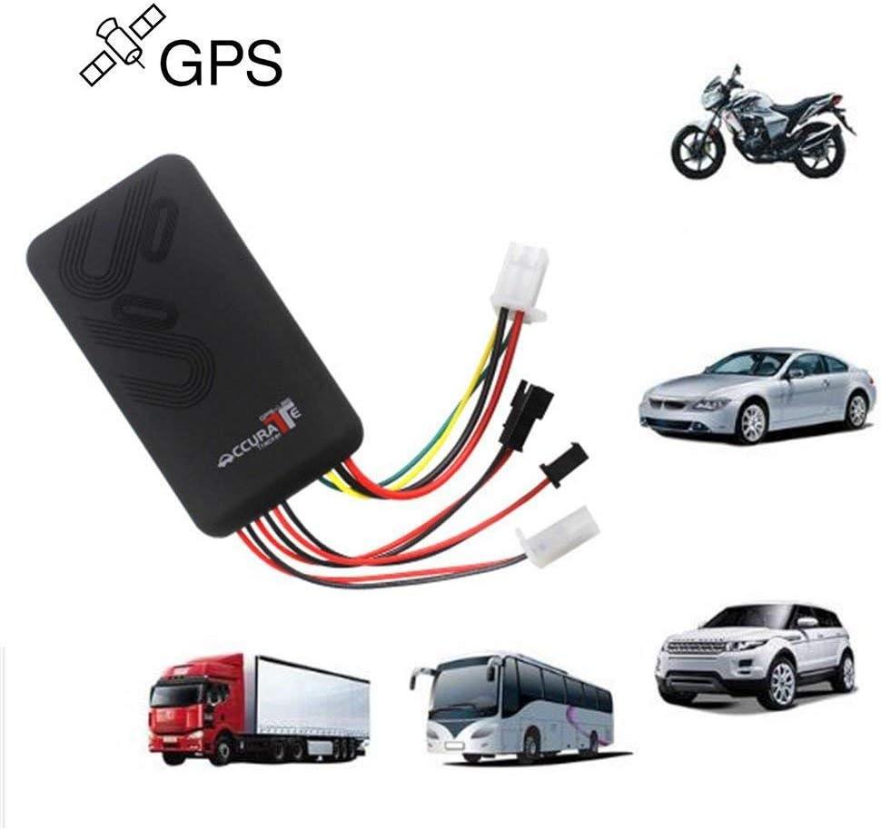 Localizador GPS/GSM/GPRS de seguimiento para vehículos, alarma de seguimiento antirrobo de marcación SMS, plataforma gratuita de seguimiento en línea