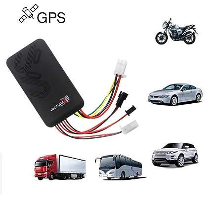 Localizador GPS/GSM/GPRS de seguimiento para vehículos, alarma de seguimiento antirrobo de