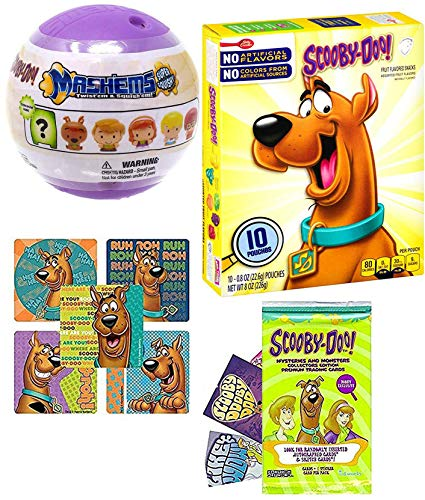 - Soft Mysteries Scooby-Doo! Mini Character Figure Blind Mashem Capsule Bundled with Fruity Fun! Shaped Mystery Machine / Fred / Daphne / Velma & Shaggy Gang + Bonus Scooby Stickers + Monsters Cards