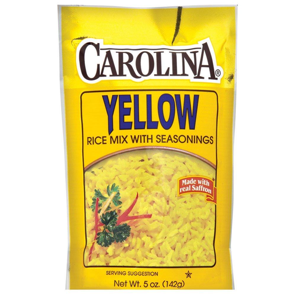 Carolina Saffron Yellow Rice Mix, 5-Ounce (Pack of 12)