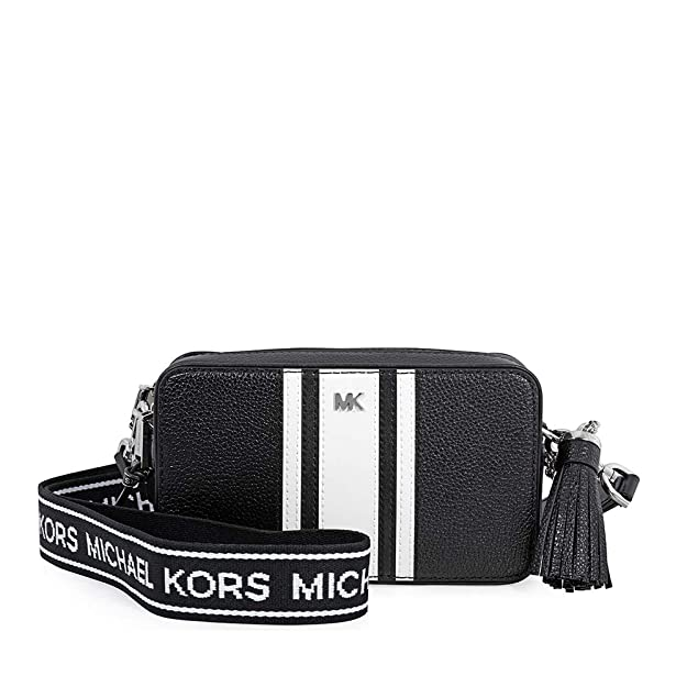 Amazon.com: Michael Kors Logo - Bolsa para cámara de fotos ...