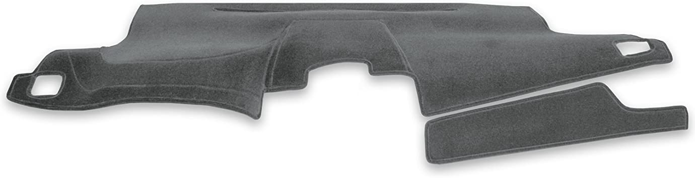 Velour Gray Coverking Custom Fit Dashboard Cover for Select Jeep Wrangler Models
