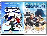 Grown Ups Double Feature DVD Comedy Double Kevin James & Adam Sandler Bundle Movie Set Grown Ups 1 & 2
