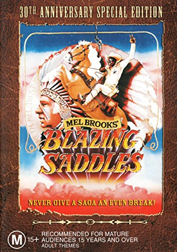 Blazing Saddles Brooks Wilder NON USA