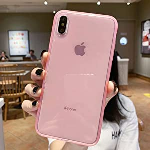 iPhone X Case,iPhone Xs Case,[Matte Shock-Absorption Bumper Edge] Silicone TPU Soft Gel Phone Cover for Apple iPhone X/Xs 5.8