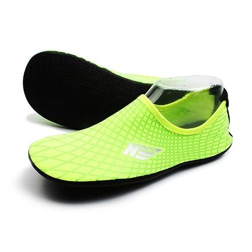 af7936fee727 SHOESKISS Multipurpose Water Skin Shoes Adult Kids Slip On Aqua Barefoot  Beach Aqua Socks Surf Pool