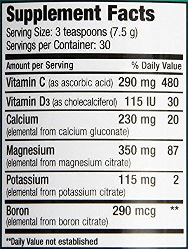 Natural Vitality Calm Plus Calcium RASP/Lm 8 oz