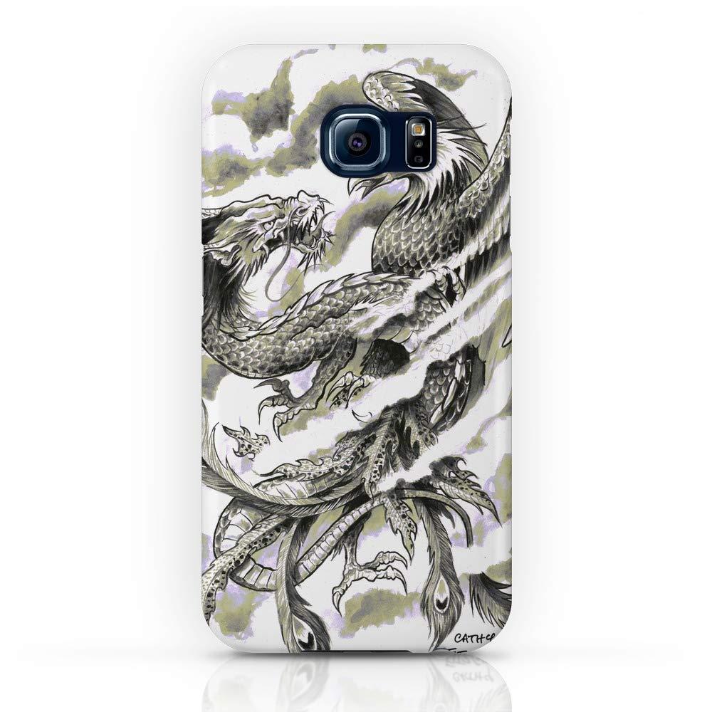 brand new 8eae5 28619 Amazon.com: Society6 iPhone 7 Cases, Featuring Dragon Phoenix Tattoo ...