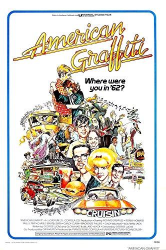 MCPosters American Graffiti GLOSSY FINISH Movie Poster - MCP109 (24