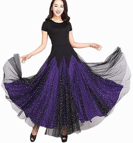 Vestido De Baile De Salón Estándar para Mujer Falda De Baile ...